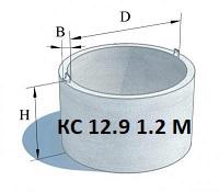 Бетоннце кольца 1.2м цена в Харькове