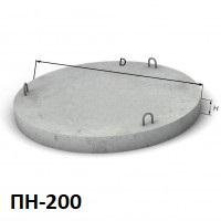 Купить днище (дно) бетонное 2м в Харькове